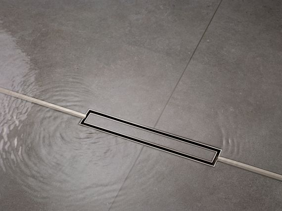 CeraFloor Individual shower channel