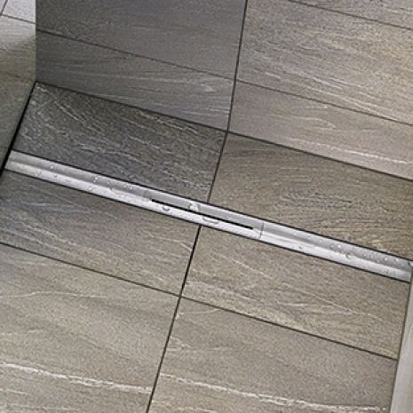"Design across the board: Dallmer presents its ""Pure"" shower channels at ISH 2017"