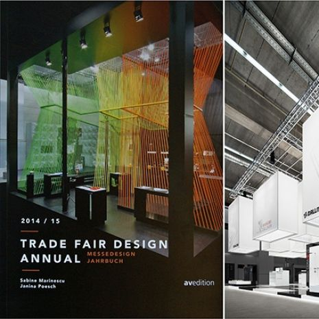 This is how ingenious exhibition stands can be - Dallmer ISH stand included in the Trade Fair Design Yearbook