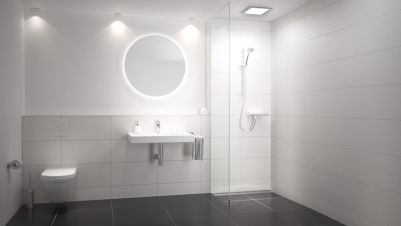 Installation: CeraWall Pure + DallFlex shower channels